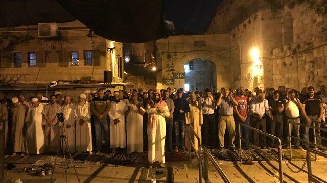 علماء الأقصى يجتمعون لاتخاذ قرار بشأن دخول المسجد