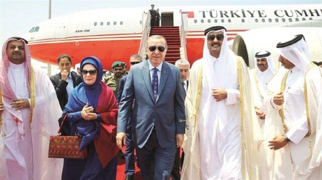 انفرادات في جولة أردوغان تبرز جهوده الحثيثة لحل الأزمة الخليجية