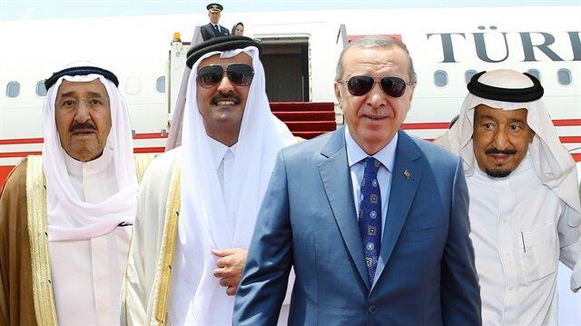 Cumhurbaşkanı Erdoğan'dan 'Körfez' diplomasisi