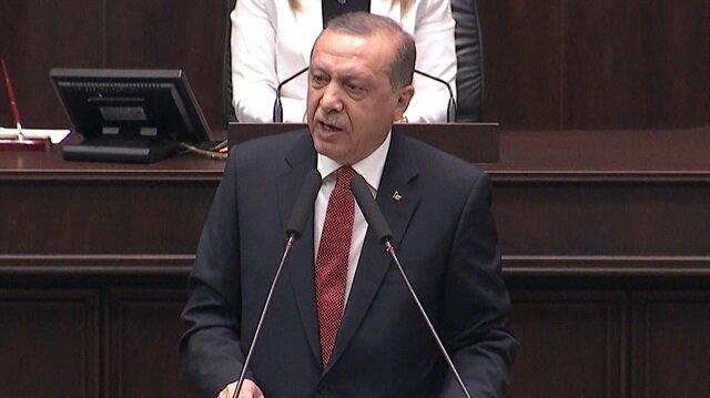 Erdoğan: Mübarek beldelerimizi savunacağız