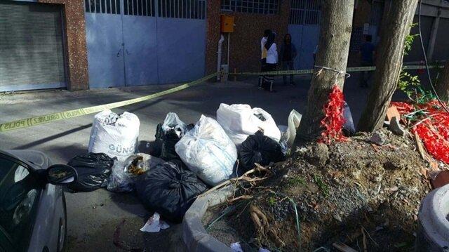 Bayrampaşa'da çöpte ceset bulundu