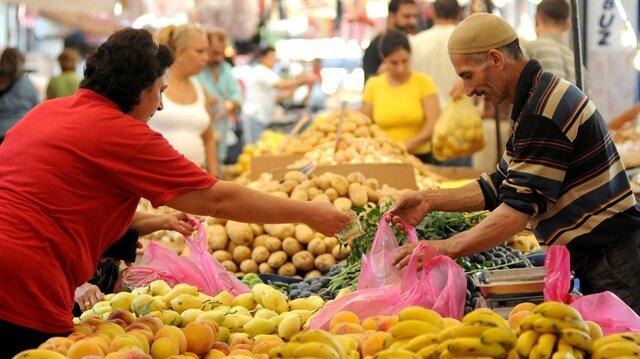 Ekonomistler, temmuz ayında Tüketici Fiyat Endeksinin (TÜFE) yüzde 0,03 artacağını tahmin ediyordu.