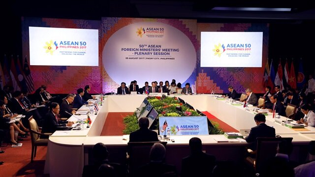 ASEAN calls for non-militarization, self-restraint in South China Sea activities