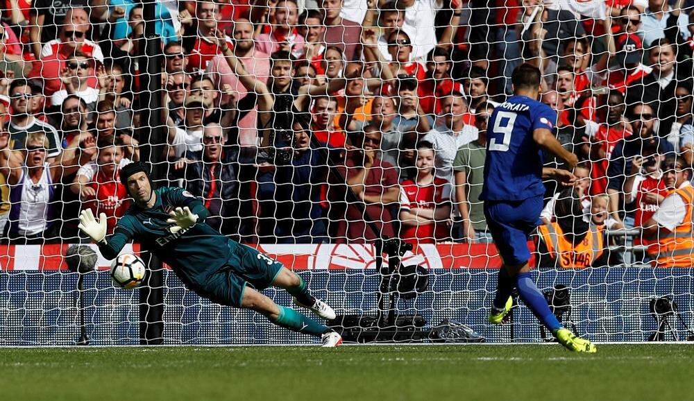 Chelsea'nin yeni transferi Morata da penaltı kaçıran isimler arasındaydı.