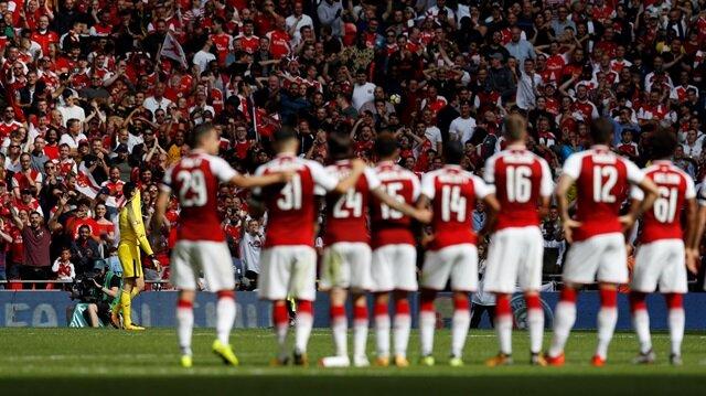 Chelsea-Arsenal maçında ilk defa uygulanan A-B-B-A penaltı sisteminde kazanan taraf Arsenal oldu.