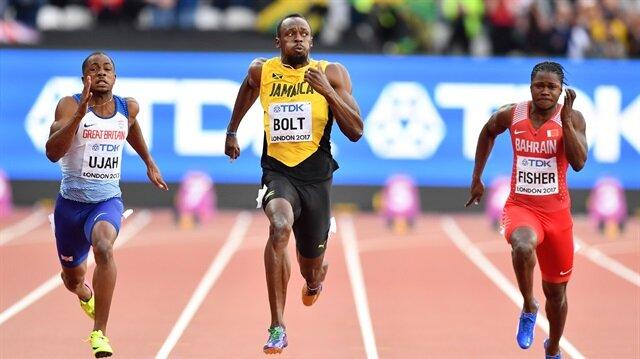 Usain Bolt,kariyerinin son yarışında üçüncü olarak bronz madalya kazandı.