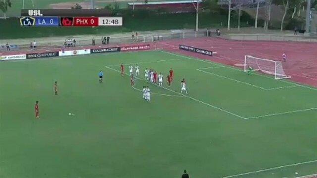 Drogba'dan Amerika'yı sallayan frikik golü