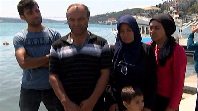 İstanbul Boğazı'nda kaybolan Furkan'ın ailesi perişan halde