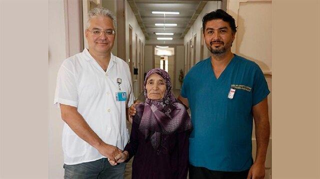 Ayşe Teyze için iki hastane seferber oldu