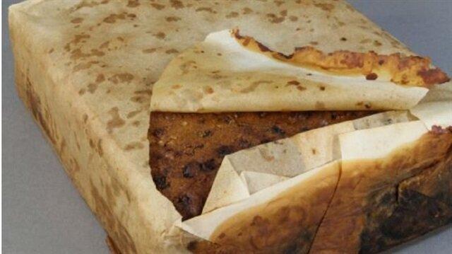 Antarktika'da 100 yıllık kek bulundu