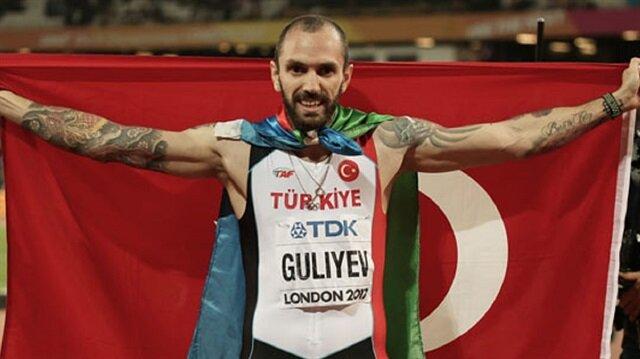 Guliyev'den tarihi başarı