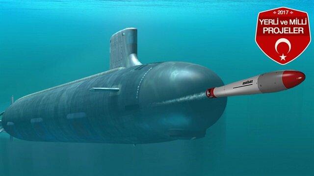 Zargana-Denizaltı Torpido Karşı Tedbir Sistemi de torpido tehdit bilgisini sağlamak amacıyla öz kaynaklar kullanılarak geliştirildi.