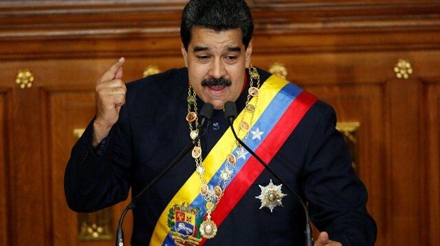Maduro'dan Trump'a çağrı: Elim burada
