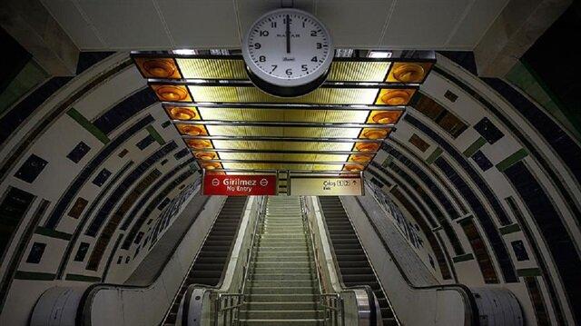 Ümraniye-Ataşehir-Göztepe Metrosu'nun Göztepe İstasyonu inşa çalışmaları başladı.