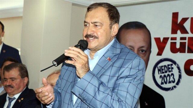 Orman ve Su İşleri Bakanı Prof. Dr. Veysel Eroğlu