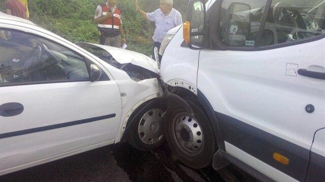 Kocaeli'de kaza: 7 yaralı