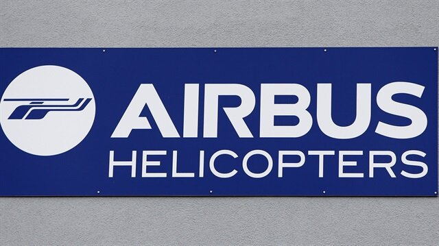 The Airbus helicopter logo