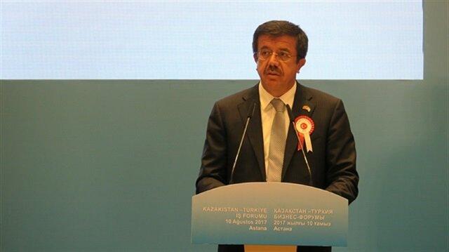 Turkish Economy Minister Nihat Zeybekçi