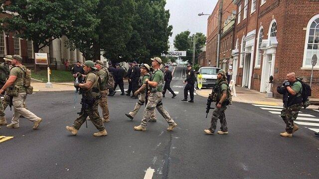 ABD'nin Virginia eyaletinde ırkçıların gösterisi sonrası olağanüstü hal ilan edildi