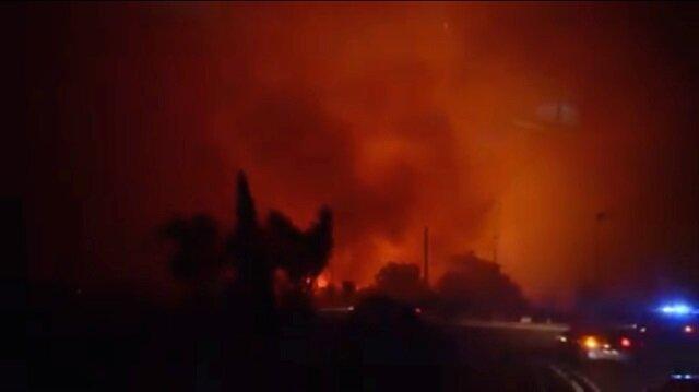 Fransa'daki orman yangınında 2 bin hektarlık alan etkilendi