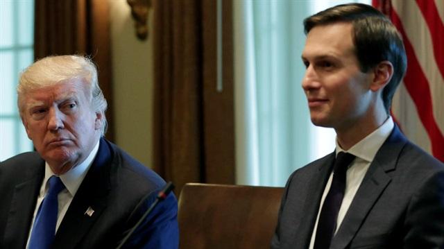 U.S. President Donald Trump and Senior Advisor Jared Kushner