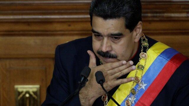 ABD'nin Venezuela Devlet Başkanı Nicolas Maduro'ya karşı yaptırımlarını sürdürüyor.