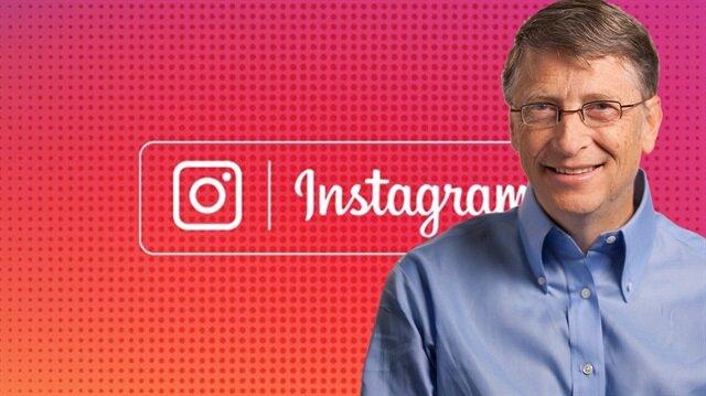 Bill Gates fotoğraf paylaşım sitesi Instagram'a katıldı.