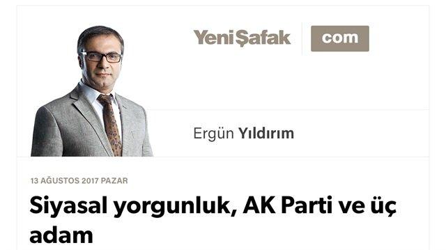 Siyasal yorgunluk, AK Parti ve üç adam