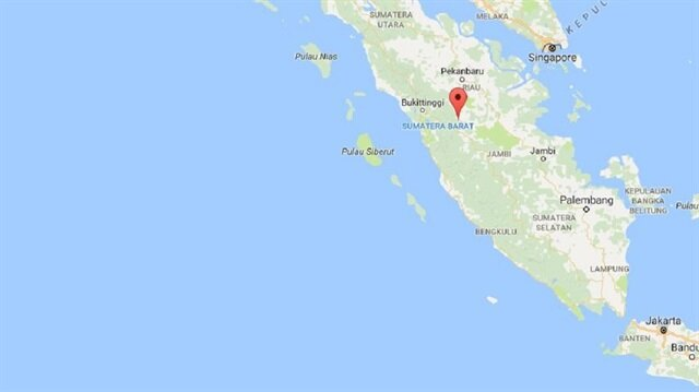 Endonezya'nın Sumatra Adası'nda, 6,4 büyüklüğünde deprem meydana geldi.