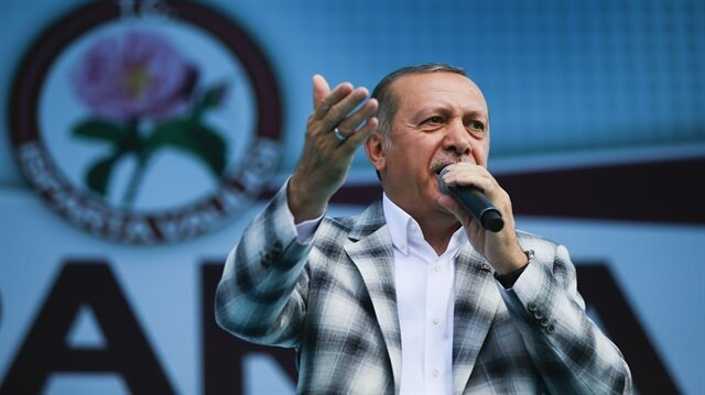 أردوغان: من يزعزع استقرار شعبنا سيدفع الثمن