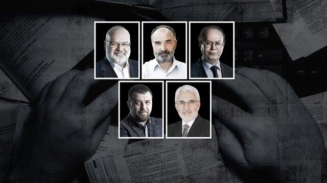 Ömer Lekesiz, Hayrettin Karaman, Yusuf Kaplan, İsmail Kılıçarslan, Hasan Öztürk