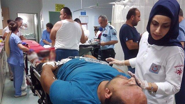 Samsun'da silahlı saldırı: 3 yaralı!