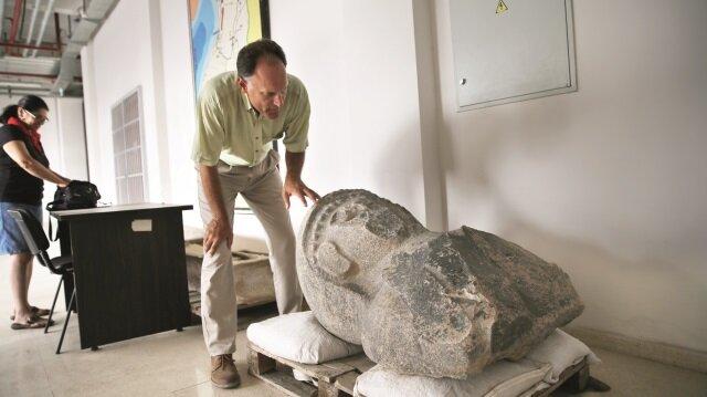 Kral  Suppiluliuma'nın   karısının heykeli bulundu