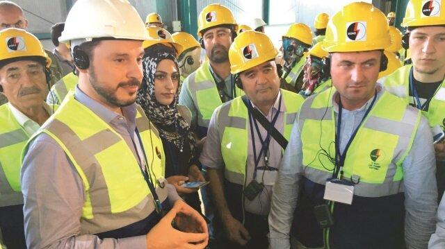 Enerji ve Tabii Kaynaklar Bakanı Berat Albayrak