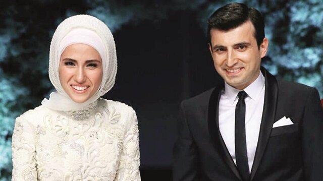 Selçuk Bayraktar ve  Sümeyye Erdoğan Bayraktar