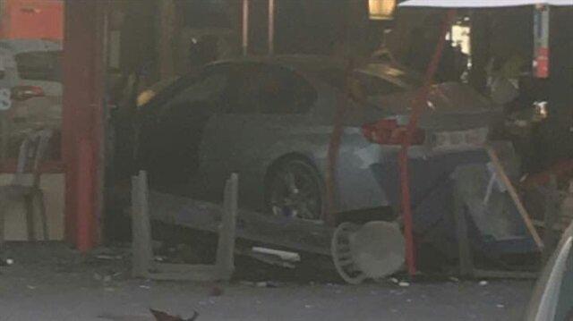 Fransa'da bir araç restorana daldı: 1 ölü