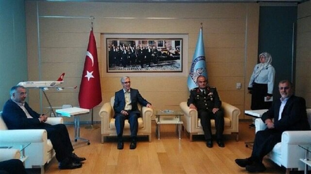 Chief of General Staff of Iran's Armed Forces Mohammad Bagheri visits Turkey