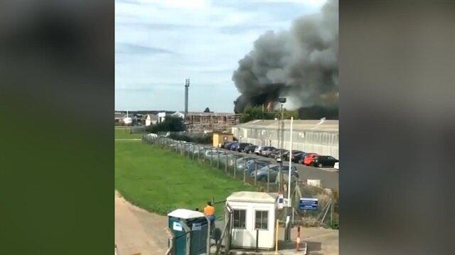Londra'da Southend Havalimanı yakınlarında patlama!