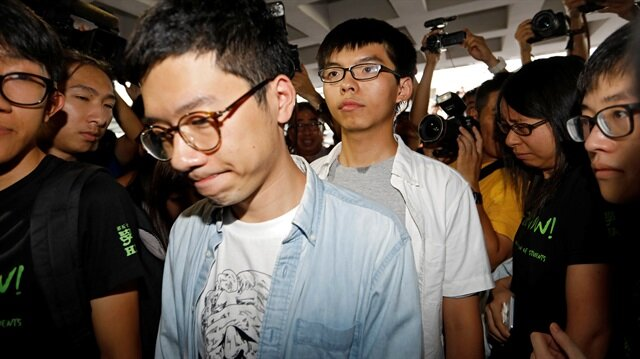 Hong Kong jails three Umbrella Movement leaders