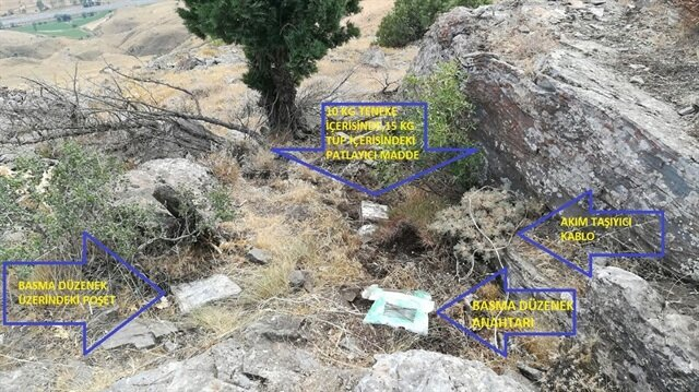 Bitlis'te 25 kilogram patlayıcı imha edildi