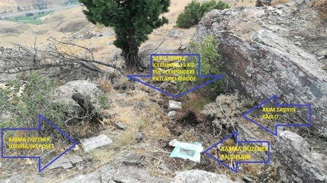 Bitlis'te 25 kilogram el yapımı patlayıcı imha edildi