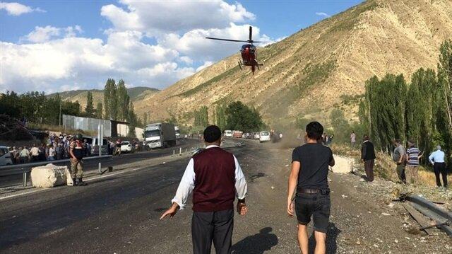 Erzurum'da trafik kazası: 3 ölü 3 yaralı