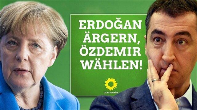 German Green Party campaigns over 'anti-Erdoğan' discourse