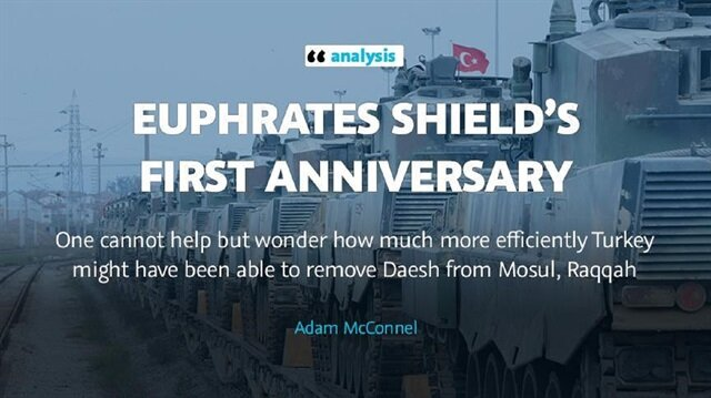 Euphrates Shield's first anniversary
