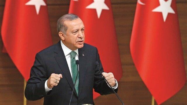 Turkey will not allow a terror corridor to be established in the Mediterranean via northern Syria: Erdoğan