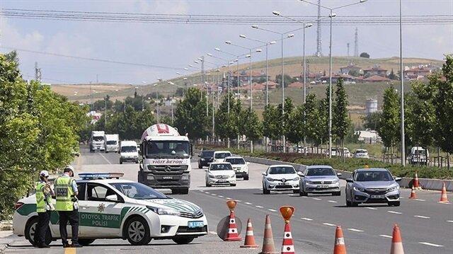 Kurban Bayramında trafik kazalarının yaşanmaması için radarlı önlem alındı.