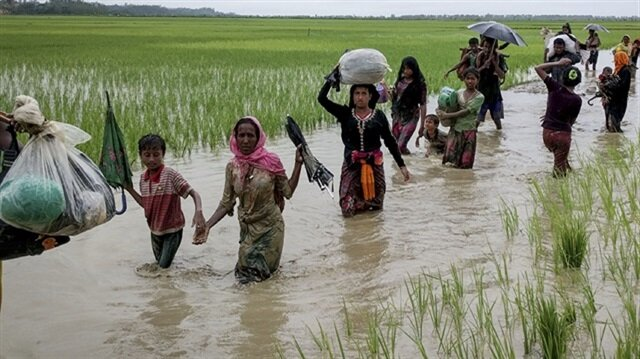Rohingya, including children, drown fleeing Myanmar