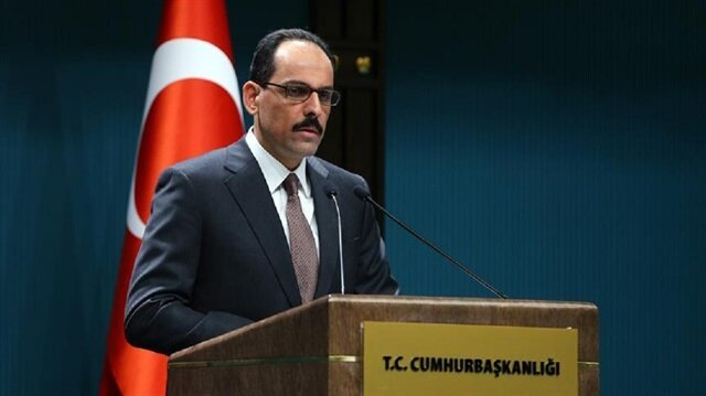 Turkish Presidential Spokesman İbrahim Kalın