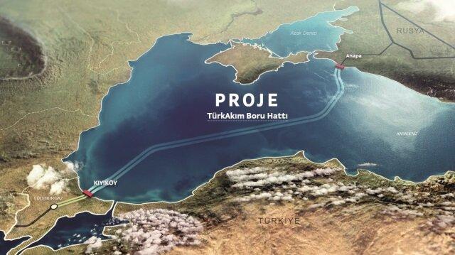 Türk Akımı'na 1,4 milyarlık terminal