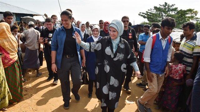 Türkiye Arakan'a giden yardımla gurur duyuyor